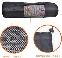 Tapis Yoga Fitness sac en filet de retenue couverture portable yoga serviette épaule dos support réglable Tailles poche pilates tapis sacs de stockage