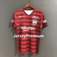 2019 2020 Vissel Kobe Home Football Soccer Jerseys Red Shirt...