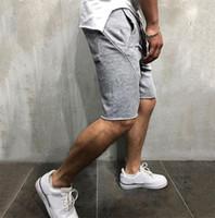 Pantalon court été Hip Hop Sport OISIRS Joggers Sweatpants Solide Couleur Vêtements de course hommes Gymlocker Designer