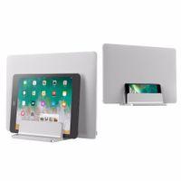 Vertical Laptop Stand Design Desktop Space Saving Holder Thickness Adjustable Dock Suit for Ipad MacBook Surface Samsung Lenovo Laptop