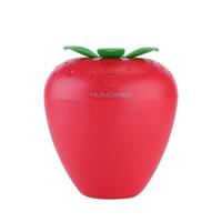 جديد لطيف فاكهة الفراولة مرطب USB ثلاثة في واحد مرطب الهواء الناشر ميست صانع للنوم الرئيسية السيارات