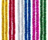 12p جيم الصلبة الزينة حزب عيد الميلاد الاحتفالية سهل الاستخدام الجمال شجرة إكليل الديكور الشريط الملون معدنية احباط هدايا