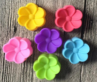 5см Бегония цветы Shaped Силиконовые формы DIY мыло для рук прессформы торта силикона Mold Fondant украшения торта инструменты