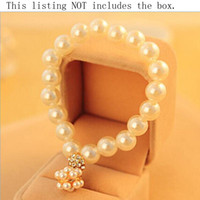 Perlenarmbänder für Frauen elastische Schmucksache-Kugel-Charme-Armbänder