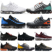 2019 Run Utility Men Running Shoes Triple Black White Burgun...