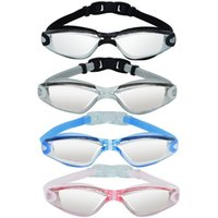 Swimming Goggles 3D Eyewear Waterproof Anti- fog No Leaking U...