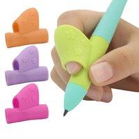 연필 오른손이 아이들은 마술 연필 소프트에 적합 지주 펜 및 쓰기 자세 교정을 배울 수 처리