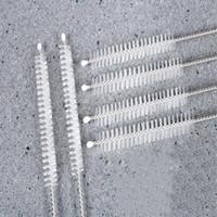 Paslanmaz Çelik Yeniden kullanılabilir Straw Temizleme Fırçalar Tüp Fırçalar Straw Fırça İçme Boru Straw Fırça Temizleyici Diğer Bar Ürünleri WY325Q