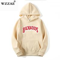 Kalın Vida Konu Manşet Kapüşonlular Streetwear Backwoods Hoodie Kazak Erkekler Moda Sonbahar Kış Hip Hop Hoodie Hoody kazak