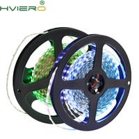 LED-Streifen 1Roll 5m Warmweiß Grün Kristallblau 2835 600Led 5mm Breite 120Leds / m IP30 Keine wasserdichte Auto Change Color-Atmosphäre