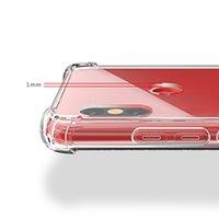 Hava Yastığı Köşe Temizle TPU Akrilik Darbeye Sert Arka Kapak Kılıf Xiaomi Mi 9 SE 8 Lite 6X Max 3 Oyna F1 Redmi Not 7 Pro 6 6A Git S2