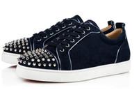 Baskets de fond rouge Junior bas bas pour hommes de luxe MENS MENS FEMMES Casual Shoes Designer noir, or, gris, rose ... Grossiste UE35-47