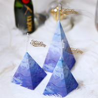 50PCS Set Triangle Candy Box Gift Bag Birthday Party Gift Bo...