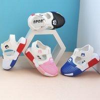 0-3 سنوات طفل عمره المد الجديد الصيف للطفولة عادية أحذية الصنادل بنين بنات تنفس شبكة مصنع السعر بيع بالجملة
