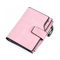 Short Wallet Women Large Capacity Wallets Clutch Female Pu L...
