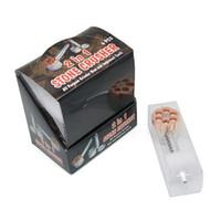 In stock Tobacco Grinder herb grinder smoking pipes sharpstone Grinders metal Tobacco herbal Grinder spedizione gratuita