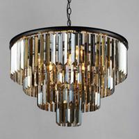 Neue Stil Kristall Kronleuchter Beleuchtung Leuchte Luxus Große Kristall Lüster de Cristal Wohnzimmer Pendelleuchte