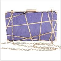 أكياس مساء شيوان الأزياء حقيبة الكتف المرأة أكريليك حزب حقيبة يد امرأة متقلب مربع مخلب محفظة