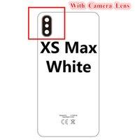 5PCS OEM Glasdeckel für iPhone XR XS MAX Batterie Glas Rückseite Tür-Gehäuse mit Klebstoff Kamera Lnes CE europäische Version