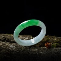 Send Certificate Natural Burmese Jade 54mm- 62mm Two- color Br...