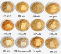 pigmento pearlescent ouro para unhas glitter, marca de alta qualidade em pó para a sombra, rosto, pele, muitos estilo de cor para escolher