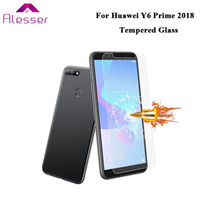 Alesser For Huawei Y6 prime 2018 Tempered Glass Film Protect...