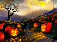 0220 Хэллоуин тыква призрак мастера DIY 5D Даймонд Картина Crafts Вышивка крестом Маске Мозаика Алмазные вышивки выкройке Rhinestone