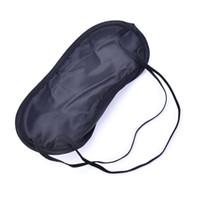Qualität 2500Pcs / lot Farbton Eyeshade Schlaf-Rest-Spielraum-Augenmasken-Haar-Abdeckungs-Augenbinden-Haut-Gesundheitspflege-Behandlung-schwarzer Schlaf Freies Verschiffen