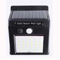 30 LED Güneş Enerjisi Işık PIR Hareket Sensörü Güneş Bahçe Işıklar Açık Su geçirmez Enerji Tasarrufu Duvar Yard Lambaları