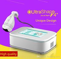 Taşınabilir HIFU Yüksek Yoğunluklu Odaklı Ultrason Liposonix ile 8.0mm 13.0mm Dönüştürücü Selülit Azaltma Zayıflama Makinesi Salon Kullanımı İçin