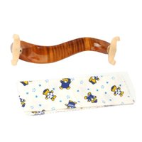 Epaulière professionnelle pour violon Nouveau épaule d'épaule en bois massif avec érable de luxe