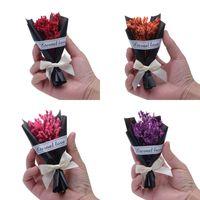 Presente de Dia dos Namorados de Alta Qualidade Seco Flor Manufatura Mini DIY Bouquet Delicado Flores Artificiais Novo Estilo 2 5xf Ww