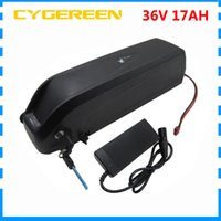 tubo de 500W para baixo 36 V Hailong bateria 36V bateria bicicleta 36V 17AH com porta USB Use NCR18650B 3400mAh celular 15A BMS