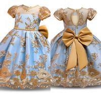 Flor meninas vestido elegante ano novo princesa crianças festa vestido de casamento crianças para meninas vestido de festa de aniversário vestido desgaste