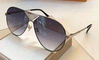 Da Metal New Sunglasses con Gafas Shaded Sha Brown Sole de Unisex 0358 Srtlo Occhiali Piloto Piloto Caja de oro Gafas de sol ICNDD