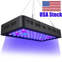 165w EUA Stock Regulável LED Aquarium Luz, Full Spectrum para Coral Reef peixes de água doce e de água salgada marinhos Tanks