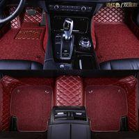 Özel Made Araba Paspaslar Kia Sorento Sportage Optima K5 Forte Cerato K3 Cadenza Su Geçirmez Deri Halı Araba Aksesuarları