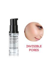 SACE Lady 6ml Pores Invisible Maquillage Primière Matifidification Matifidification Huile Contrôle Lisse Soux Soux 120 PCS Livraison Gratuite DHL