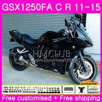 Kropp för SUZUKI BANDIT GSX1250 C GSX1250F GSX1250FA 11 12 13 14 15 TOP ALLA BLACK 21HM.41 GSX1250C GSXF1250 2011 2012 2013 2014 2015 FAIRING