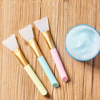 Silikon Maske Pinsel Gesichtsmasken Schlamm Mischwerkzeug Hautpflege Schönheit Makeup Pinsel Face Foundation Werkzeuge Maquiagem
