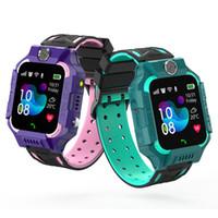 Q19 Детские дети Smart Watch Watch IP67 Водонепроницаемый LBS Tracker SmartWatches SIM-карточный слот с камерой SOS для Android iPhone смартфонов в поле