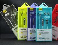 마이크 헤드폰 이어폰 3.5mm의 스테레오 헤드셋 슈퍼베이스 휴대폰 이어폰 소매 패키지 Elmcoei EV122 EV110 EV121 이어폰 스포츠