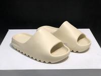 Kanye West Terlik Siyah Toprak Kahverengi Kemik Erkekler Ayakkabı Köpük Koşucu Racer Plaj Sandalet 450 S Ayakkabı Eğitmenler Kadın İskelet Boyutu 36-45