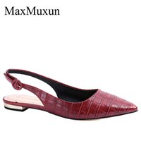 MaxMuxun Womens Low Heels Sandals Ladies Fashion Pointed Toe...
