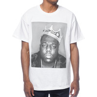 Notorious BIG Biggie Smalls T-Shirt BIGGIE CROWN NOVITÀ 100% Autentica maglietta in denim con t-shirt da uomo