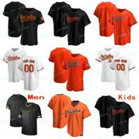 Individuelle 2020 New Baseball Cal 8 Ripken Jr Manny 13 Machado Roberto Alomar 12 Trey 16 Mancini Chris 19 Davis Trikots Männer Frauen Jugend