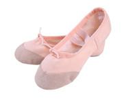 cdc49c30f Women Kids Ballet Dance Shoes Canvas Black Pink Red White Children ...