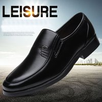 Big size Men office dress shoes old men shoes round toes man...