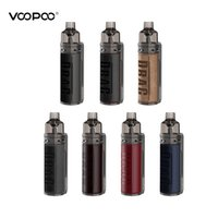 VOOPOO Sürükle S Box Kit 60W, 4500 mAh batarya ile inşa edilmiştir.