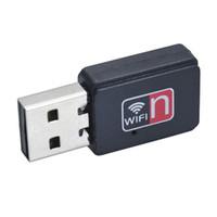 100 pcs 150Mbps MT7601 placa de rede adaptador sem fio USB WiFi receptor de sinal computador AP transmissor IEEE 802.11n